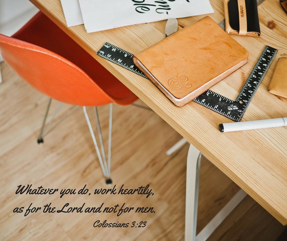 Colossians 3-23