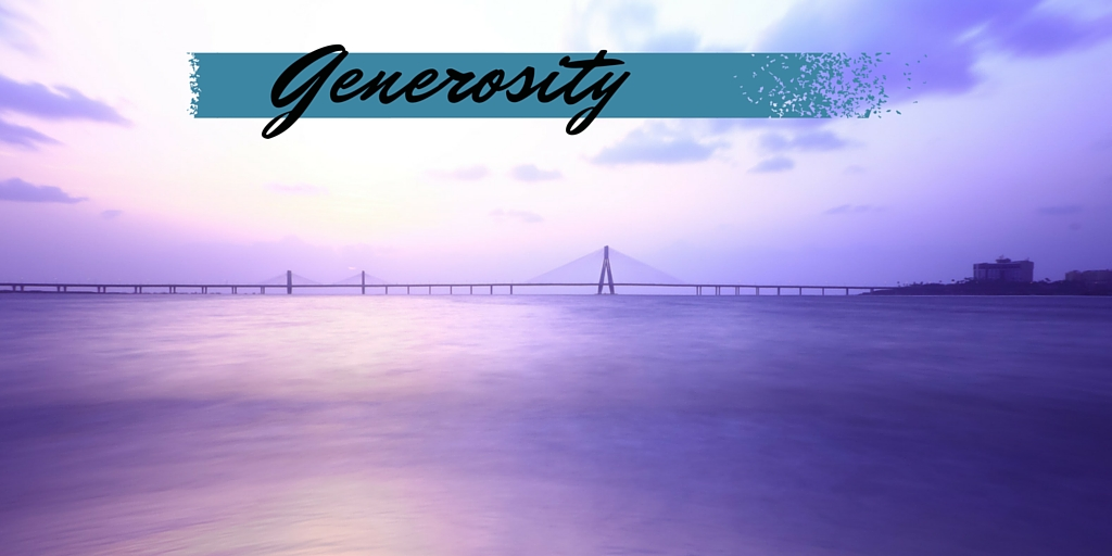 How to Grow in Generosity