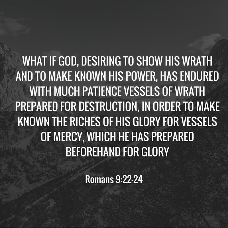 Romans 9-22-24